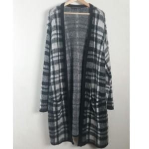 Torrid Insider Collection Plaid Open Cardigan 4